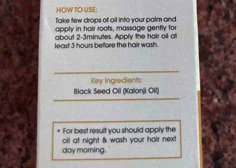 how to use black seed oil